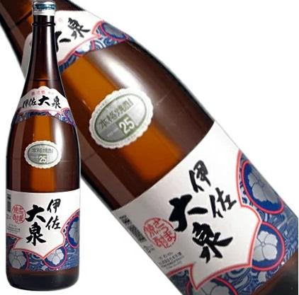 【送料無料】【ケース販売】大山酒造 本格焼酎 伊佐大泉 芋 25度 瓶 1.8L×6本【北海道・沖縄県・東北・四国・九州地方は必ず送料が掛かります。】