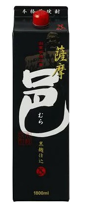【送料無料】【ケース販売】岩川醸造 薩摩邑 黒麹 芋 25度 1.8L×6本【北海道・沖縄県・東北・四国・九州地方は必ず送料が掛かります。】