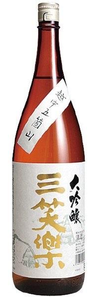 【送料無料】【ケース販売】【富山の地酒】三笑楽 大吟醸 瓶 1.8L×6本【北海道・沖縄県・東北・四国・九州地方は必ず送料が掛かります】