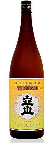【送料無料】【ケース販売】富山県 立山酒造 純米酒 1.8L×6本/1ケース【北海道・沖縄県・東北・四国・九州地方は必ず送料が掛かります】