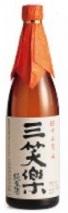 【送料無料】【ケース販売】【富山の地酒】三笑楽 純米酒 瓶 720ml×12本【北海道・沖縄県・東北・四国・九州地方は必ず送料が掛かります】
