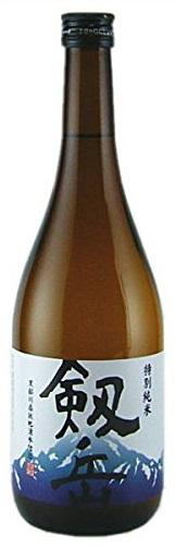 【送料無料】【富山の地酒】銀盤酒造 剱岳 特別純米 720ml×12本【北海道・沖縄県・東北・四国・九州地方は必ず送料が掛かります】