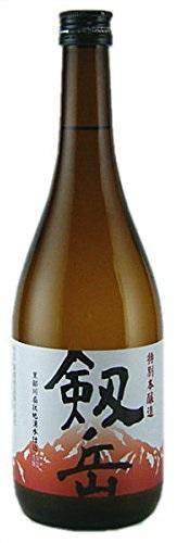 【送料無料】【富山の地酒】銀盤酒造 剱岳 特別本醸造 720ml×12本【北海道・沖縄県・東北・四国・九州地方は必ず送料が掛かります】