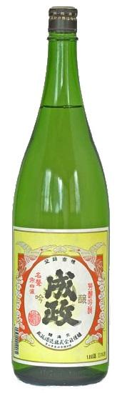 【送料無料】【富山の地酒】成政酒造 吟醸 1800ml 1.8L×6本【北海道・沖縄県・東北・四国・九州地方は必ず送料が掛かります】