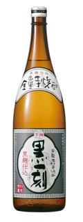 【送料無料】 宝酒造 全量芋焼酎 黒一刻 25度 1800ml 1.8L×6本/1ケース【北海道・沖縄県・東北・四国・九州地方は必ず送料が掛かります】