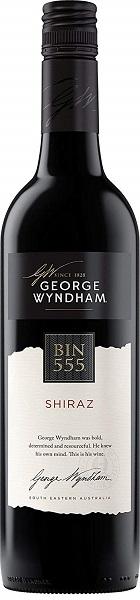 【送料無料】【ケース販売】 [オーストラリア/赤ワイン/辛口/フルボディ]ジョージ・ウィンダム BIN555 シラーズ 750ml×12本【北海道・沖縄・東北・四国・九州地方は必ず送料が掛かります。】