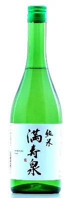 【送料無料】【ケース販売】【富山の地酒】満寿泉 純米酒 瓶 720ml×12本【北海道・沖縄県・東北・四国・九州地方は必ず送料が掛かります】