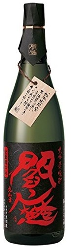 【送料無料】老松酒造 全量麹仕込麦焼酎 黒閻魔 25度 1.8L×6本【北海道・沖縄県・東北・四国・九州地方は必ず送料が掛かります。】
