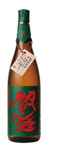 【送料無料】老松酒造 閻魔 えんま 常圧蒸留麦焼酎 25度 1800ml 1.8L×6本/1ケース【北海道・沖縄県・東北・四国・九州地方は必ず送料が掛かります。】