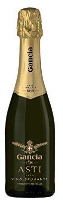 【送料無料】スパークリングワイン ガンチア アスティ・スプマンテ 375ml×24本/2ケース [イタリア/甘口/ミディアムボディ/白]【北海道・東北・四国・九州・沖縄県は必ず送料がかかります】