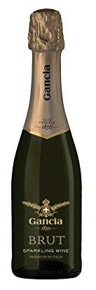 【送料無料】スパークリングワイン ガンチア ブリュット スプマンテ 375ml×24本/2ケース [イタリア/辛口/ミディアムボディ/白]【北海道・東北・四国・九州・沖縄県は必ず送料がかかります】