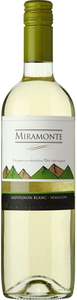 市場最安値に挑戦 ミラモンテ 白 スクリューキャップ 注文後の変更キャンセル返品 750ml 辛口 ご注文は12本まで同梱可能 1本 チリ 白ワイン 初売り