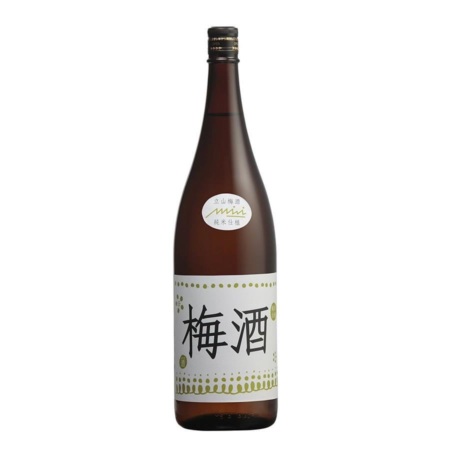 【送料無料】富山県 立山酒造 立山梅酒 1.8L×6本/1ケース【北海道・沖縄県・東北・四国・九州地方は必ず送料が掛かります】