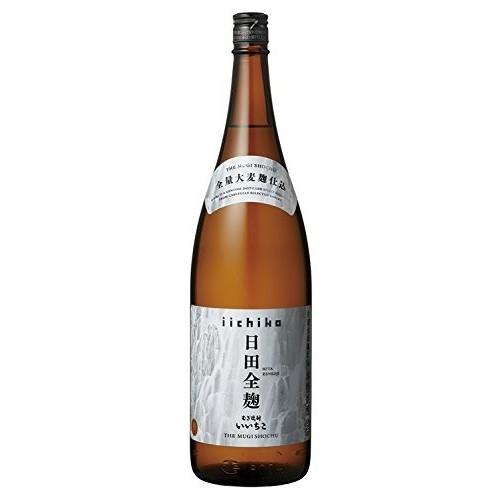 【送料無料】【ケース販売】三和酒類 いいちこ 日田全麹 麦 25度 1.8L×6本【北海道・沖縄県・離島は対象外になります】
