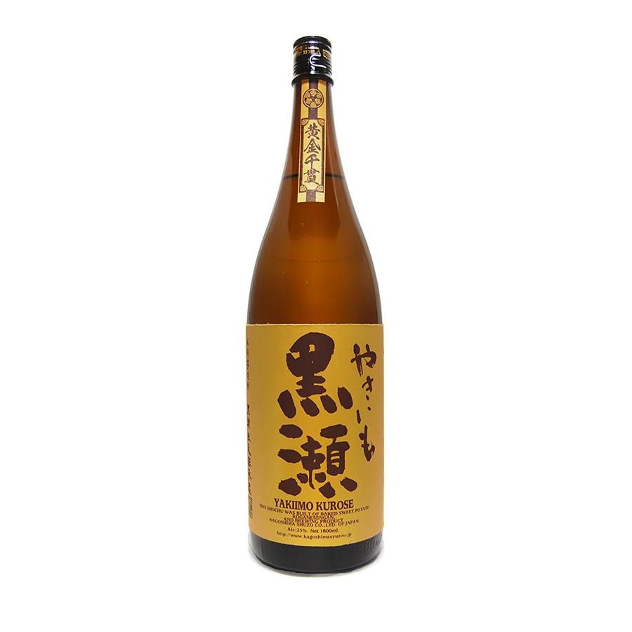 【送料無料】 鹿児島酒造 やきいも黒瀬 芋 25度 1.8L×6本【北海道・沖縄県・東北・四国・九州地方は必ず送料が掛かります。】