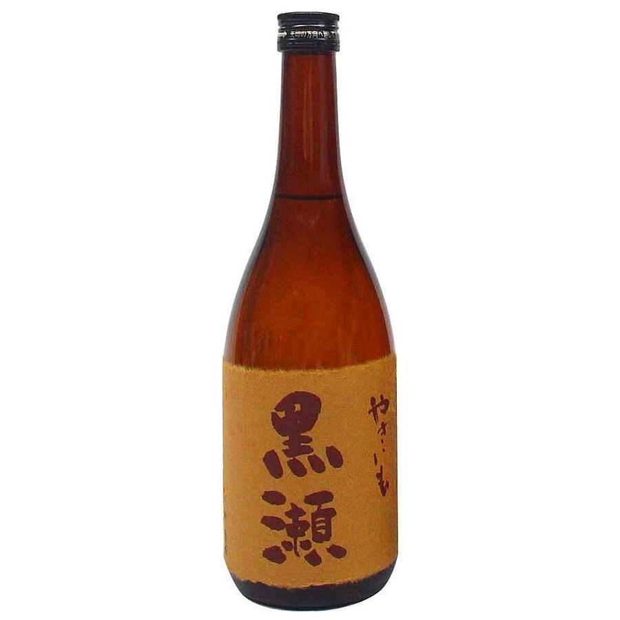 【送料無料】鹿児島酒造 やきいも黒瀬 芋 25度 720ml×12本/1ケース【北海道・沖縄県・東北・四国・九州地方は必ず送料が掛かります】