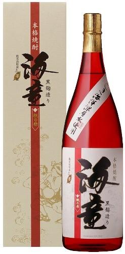 【送料無料】濱田酒造 海童 祝の赤 芋 25度 1800ml 1.8L×6本/1ケース【北海海・東北・四国・九州・沖縄は別途送料がかかります】