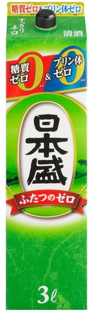 【送料無料】【2ケース販売】日本盛 糖質ゼロプリン体ゼロ 3000ml×8本【北海道・沖縄県・東北・四国・九州地方は必ず送料が掛かります。】