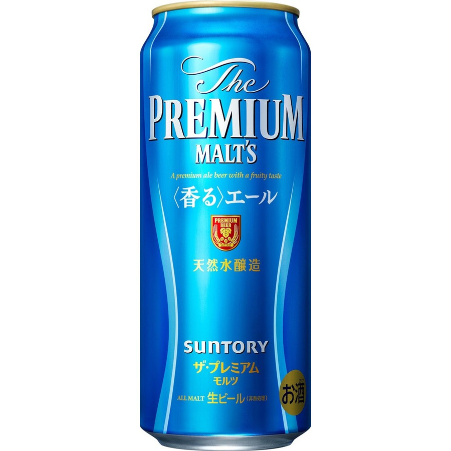 【送料無料】サントリー ザ・プレミアムモルツ 香るエール 500ml×2ケース【北海道・沖縄県は対象外となります。】【premiumstp03】