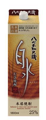 【送料無料】【2ケース販売】キリン 八代不知火蔵 白水 麦 25度 パック 1800ml×12本【北海道・沖縄県・東北・四国・九州地方は必ず送料が掛かります。】