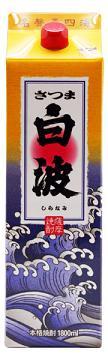 【送料無料】【2ケース販売】薩摩酒造 さつま白波 芋 25度 1800mlパック×12本【北海道・沖縄県・離島は対象外となります】