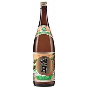 【芋焼酎】明石酒造 明月 25度 1800ml(1.8L)瓶 1ケース(6本入り)