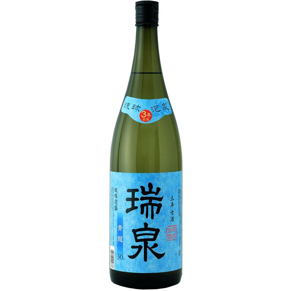 【泡盛】瑞泉酒造 瑞泉 古酒 青龍 30度 1800ml(1.8L)瓶 1ケース(6本入り)