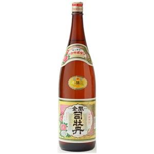 【清酒】司牡丹酒造 司牡丹 金凰本醸造 1800ml(1.8L)瓶 6本(1ケース)