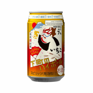 いいちこ 下町のハイボール GOLDEN BLEND 350ml 缶 お買い得 焼酎 交換無料 三和酒類 ハイボール 1ケース 24本
