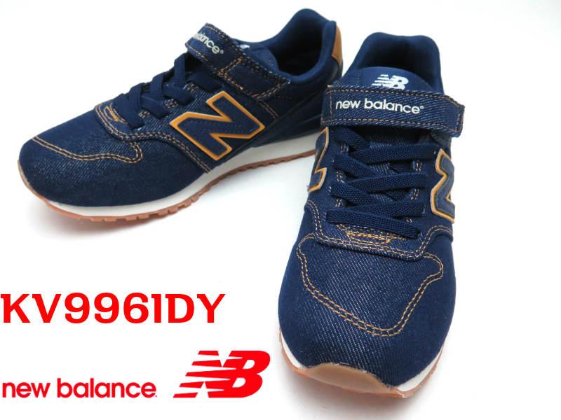 New Blance『ニューバランス』KV996 IDY子供靴 キッズ  ジュニアスニーカー マジック 【KV996IDY】17cm 18cm 19cm 20cm 21cm 22cm 23cm 24cm