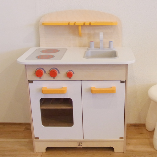 Wooden Playing House Kitchen Gourmet White E3100 Of German Cognitive Education Toymaker