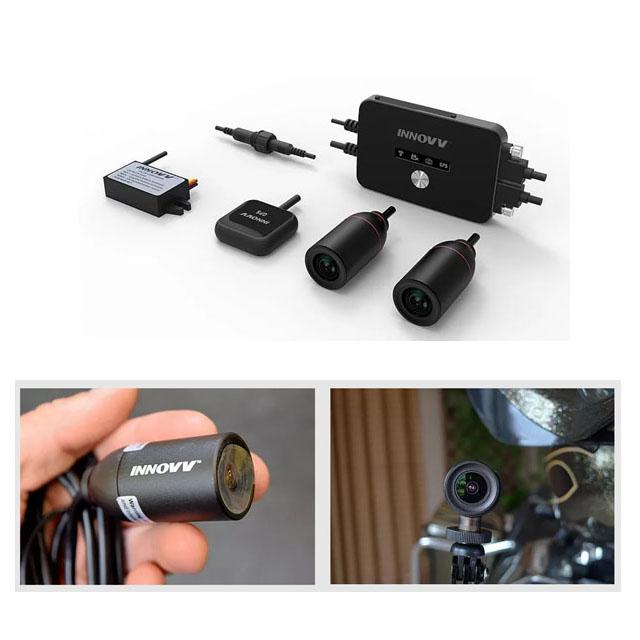 INNOVV-K2 バイク対応防水2カメラ分離型ドライブレコーダーGPSマウス付