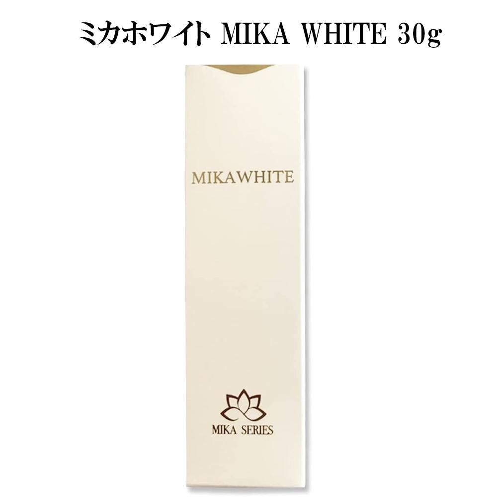 アンミカプロデュース ミカホワイト 贈答 歯磨き粉 WHITE MIKA 30g 商品追加値下げ在庫復活