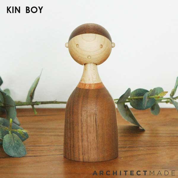 KIN BOY(男の子) H11.2cm ARCHITECTMADE(アーキテクトメイド)デンマーク 木製オブジェ・置物・北欧オブジェ【送料無料】【HLS_DU】
