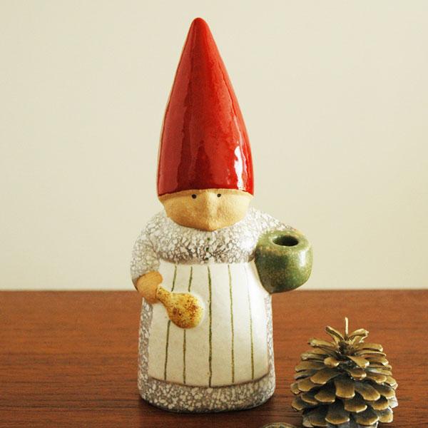 【予約商品】Lisa Larsonリサラーソン/Santa Mother(サンタ・マザー)トムテファミリー/スウェーデン/北欧オブジェ/置物【送料無料】【HLS_DU】