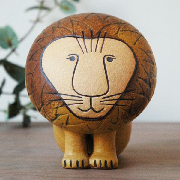 Lisa Larson(リサラーソン)Lion(ライオン)ミディアムサイズ スウェーデン 北欧オブジェ 置物 ギフト対応【送料無料】【HLS_DU】