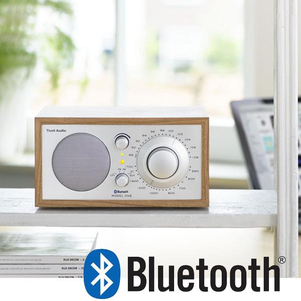 Model One BT(モデル・ワン ビーティー)Bluetooth対応モデル チェリー×シルバー ラジオ チボリ オーディオ【送料無料】【HLS_DU】