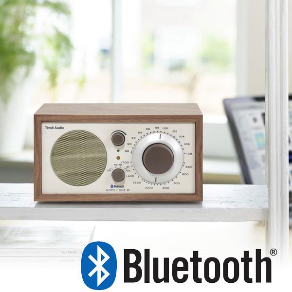 Model One BT(モデル・ワン ビーティー)Bluetooth対応モデル ウォールナット×ベージュ ラジオ チボリ オーディオ【送料無料】【HLS_DU】