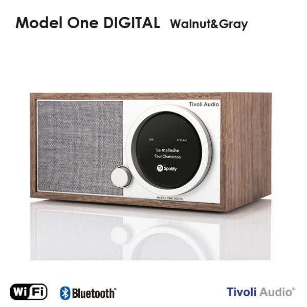 Model One Digital(モデル・ワン デジタル)ウォールナット×グレー ラジオ チボリ オーディオ ARTシリーズ【送料無料】【HLS_DU】