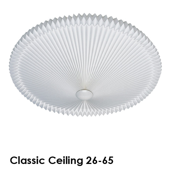LE KLINT(レ・クリント)Classic Ceiling 26(クラシック・シーリング)65cm 北欧シーリングライト/デザイナーズ照明【送料無料】