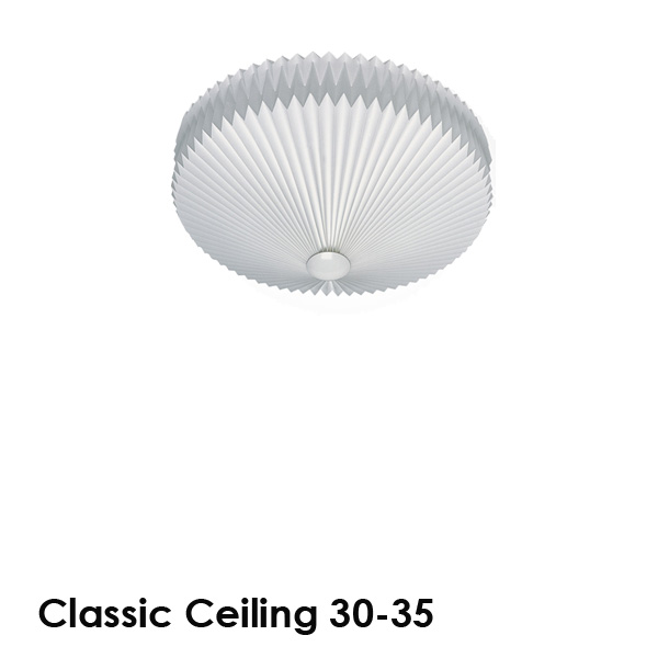 LE KLINT(レ・クリント)Classic Ceiling 30(クラシック・シーリング)35cm 北欧シーリングライト/デザイナーズ照明【送料無料】