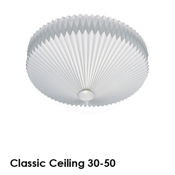 LE KLINT(レ・クリント)Classic Ceiling 30(クラシック・シーリング)50cm 北欧シーリングライト/デザイナーズ照明【送料無料】