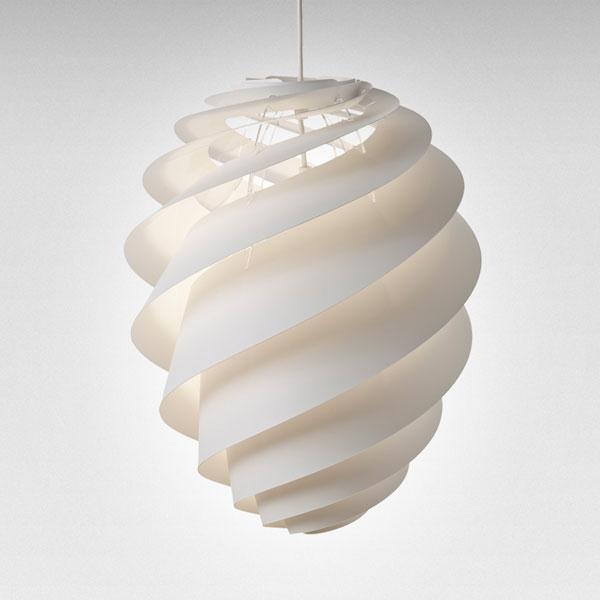 LE KLINT(レ クリント)Swirl(スワール)2/Mサイズ/ミディアムサイズ デンマーク 北欧 ペンダントライト デザイナーズ照明【送料無料】【コードカット対応】
