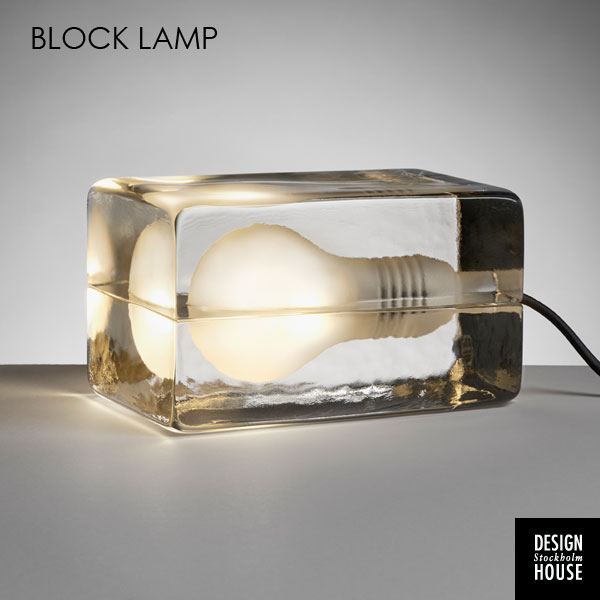 Block Lampブロックランプ DESIGN HOUSE stockholm(デザインハウス ストックホルム)スウェーデン 北欧テーブルランプ【送料無料】【HLS_DU】