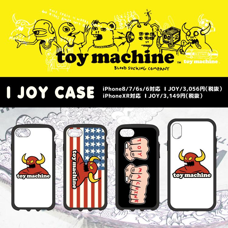 送料無料 iPhoneXR対応 TOY MACHINE