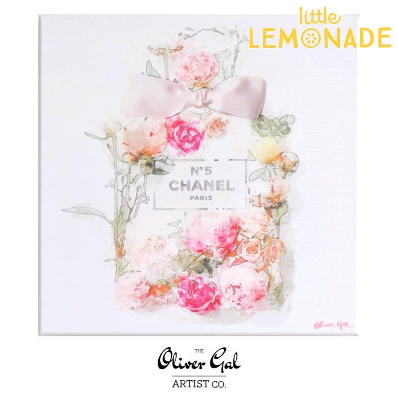 【Oliver Gal Art】 Blooming Perfume / CHANEL NO.5 (17906)オリバー・ガル アートボード リトルレモネード