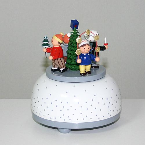 ★エントリーで全商品10倍!★ 【クリスマス用品・オルゴール】4人の子ども[ Christmas:クリスマス ]