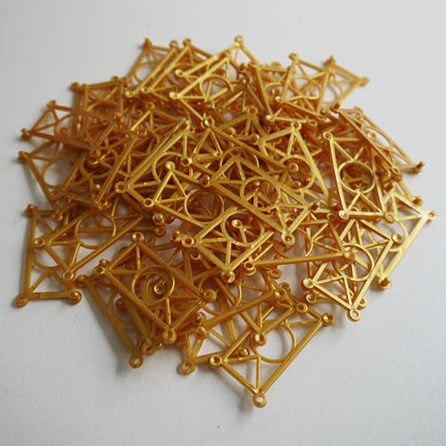 知育玩具 形 色 造形 メール便発送可能 造形おもちゃ 60ピースセット:ゴールド 店 デュシマスナップ 人気上昇中