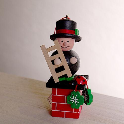 一生の宝物 上質な木製オーナメント クリスマス用品 2021年9~10月入荷分ご予約 買収 幸運を運ぶ煙突掃除 ULBRICHT:ウルブリヒト 毎日激安特売で 営業中です Christmas:クリスマスオーナメント