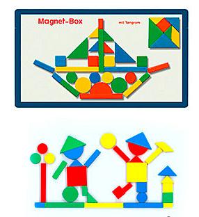 マグネット遊び 造形 知育玩具 缶入りマグネット 日本未発売 毎日激安特売で 営業中です